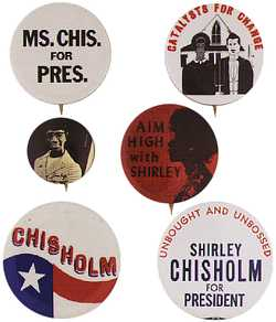 Shirley St.Hill Chisholm for PRESIDENT!